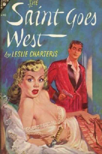 Avon Books - The Saint Goes West - Leslie Charteris