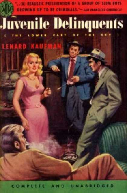 Avon Books - The juvenile delinquents - Lenard Kaufman