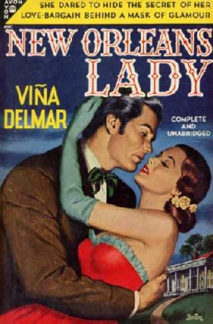 Avon Books - New Orleans Lady - Vina Delmar