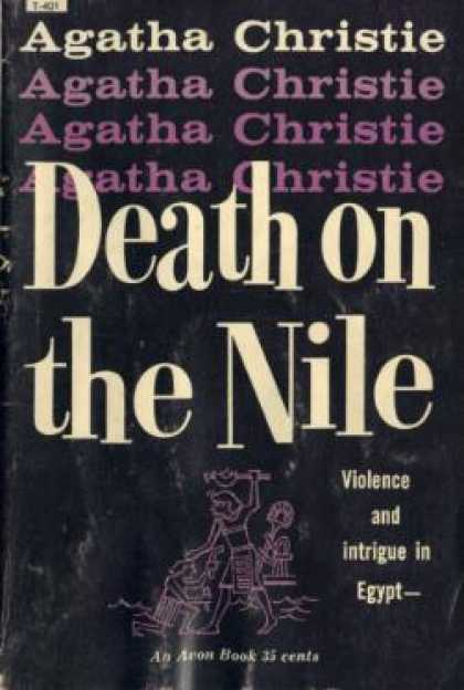 Avon Books - Death on the Nile - Agatha Christie