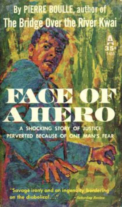 Avon Books - Face of a Hero; - Pierre Boulle