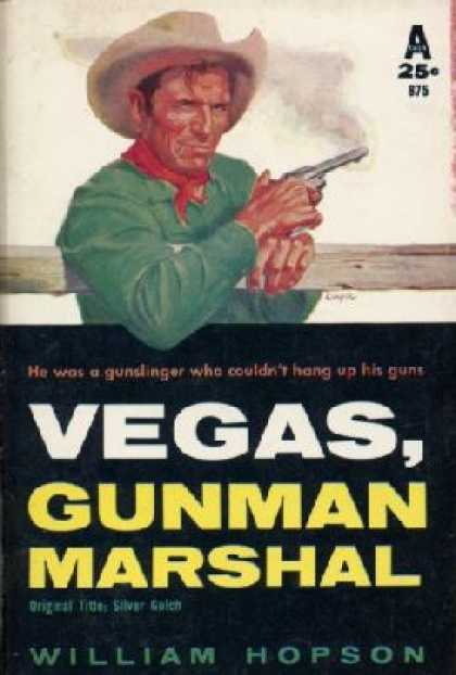 Avon Books - Vegas, Gunman Marshal - William Hopson