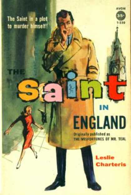 Avon Books - The Saint In England : The Simon Templar Foundation; the Higher Finance; the Art