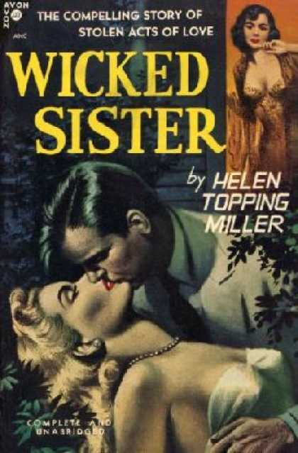 Avon Books - Wicked Sister