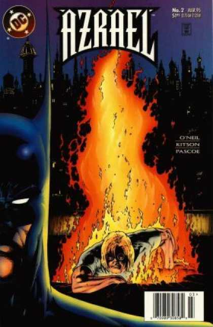 Azrael 2 - Dc - Dc Comics - Batman - Night - On Fire - Barry Kitson