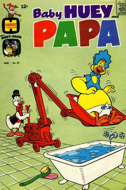 Baby Huey and Papa 22 - Doll - Pig - Duck - Cat - Animal