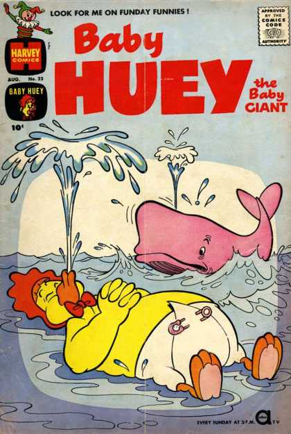 Baby Huey the Baby Giant 25