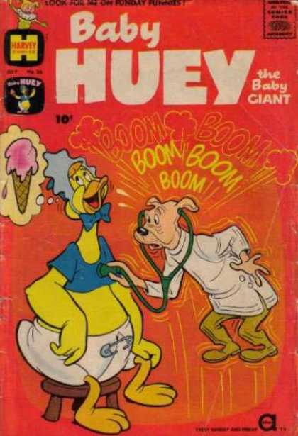 Baby Huey the Baby Giant 36 - Harvey - Duck - Pig - Ice Cream - Boom