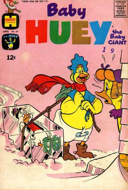 Baby Huey the Baby Giant 57 - Duck - 12c - Box - Rope - Boots
