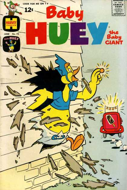 Baby Huey the Baby Giant 70 - Wall - Money - Ice Cream Truck - Breaking Through - Bells