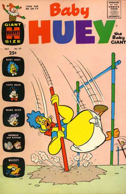 Baby Huey the Baby Giant 97 - Sand - Rope - Smoke - Soil - Duck