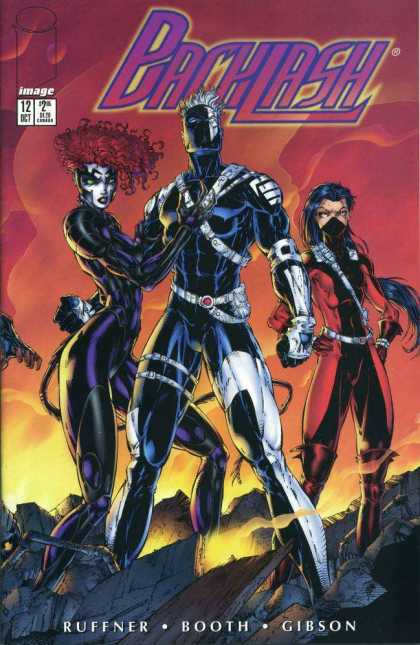 Backlash 12 - Trio - Supersoldiers - Mutant - Masked - Secret Identity