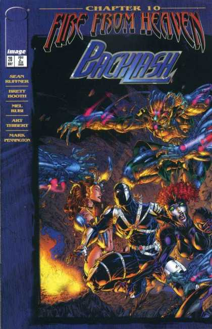 Backlash 20 - Fire From Heaven - War - Chaos - Fantasy - Art