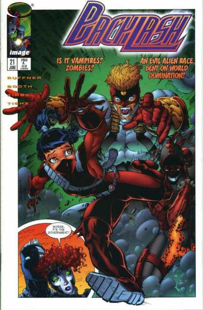 Backlash 21 - Zombies - Image - Evil - Sharp Teeth - Vampires