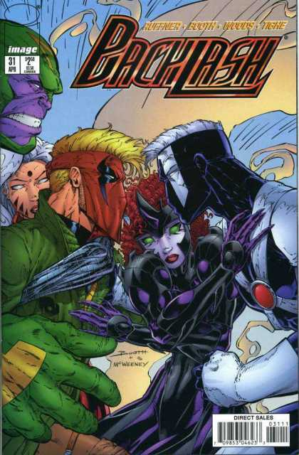 Backlash 31 - Mcweeney - Huffner - Booth - Woods - Tighe
