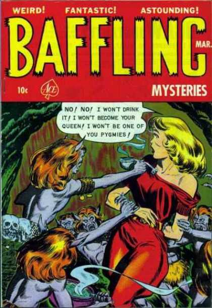 Baffling Mysteries 14 - Mystery - Woman - Monsters - Demons - Demons Attack Woman