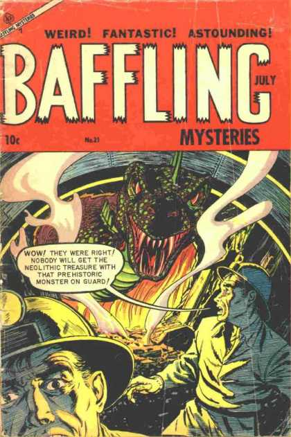 Baffling Mysteries 21 - Weird - Fantastic - Astounding - July - Neolithic Treasure