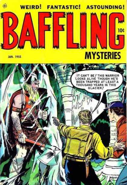 Baffling Mysteries 24 - Viking - Ice - Caves - Glacier - Axe