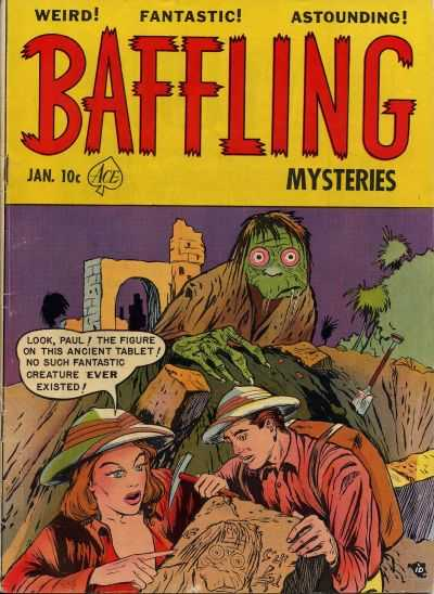 Baffling Mysteries 6 - Ancient Tablet - Creature - Ruins - Archeology - Paul
