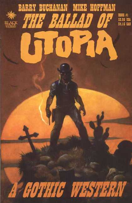 Ballad of Utopia 1 - Barry Buchanan - Mike Hoffman - Brown - Orange - Gun