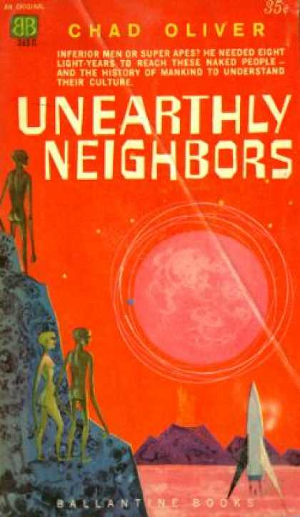 Ballantine Books - Unearthly Neighbors - Chad Oliver