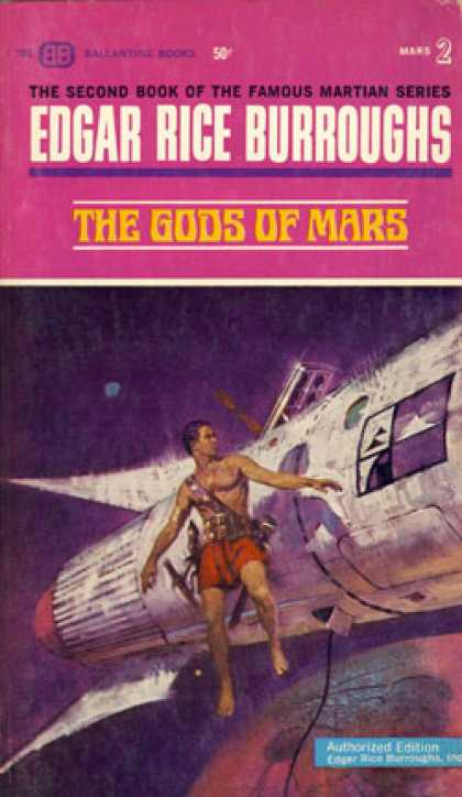 Ballantine Books - The Gods of Mars (vintage Ballantine, U2032)