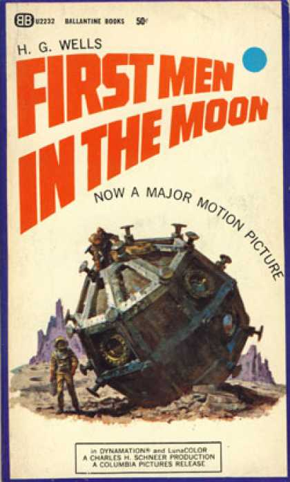 Ballantine Books - First Men In the Moon - H. G. Wells