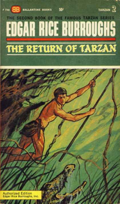 Ballantine Books - The Return of Tarzan - Edgar Rice Burroughs