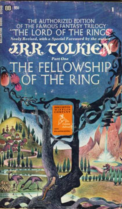 Ballantine Books - The Fellowship Fo the Ring - J.r.r. Tolkien