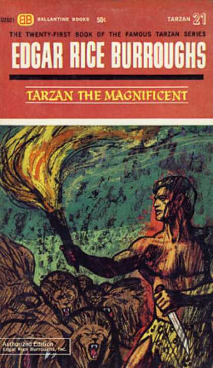 Ballantine Books - Tarzan the Magnificent (vintage Ballantine U2021)