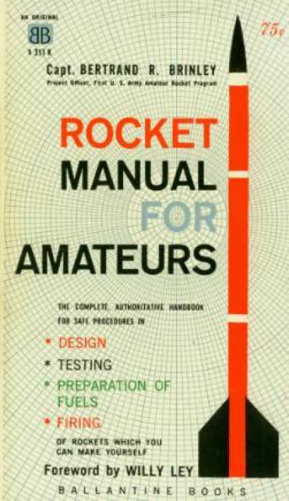 Ballantine Books - Rocket Manual for Amateurs - Bertrand R Brinley