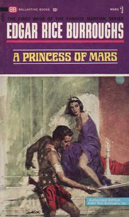 Ballantine Books - A Princess of Mars - Edgar Rice Burroughs