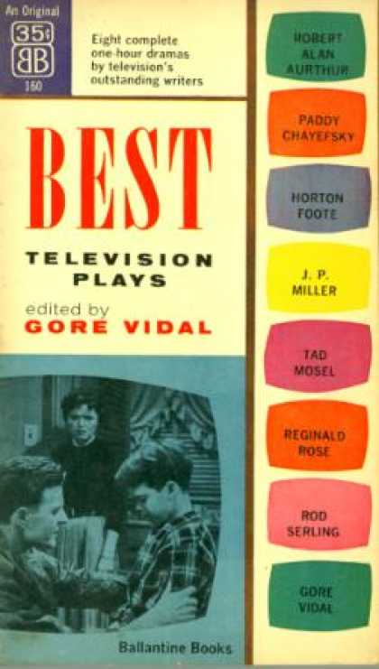 Ballantine Books - Best Television Plays - Robert Alan Aurthur