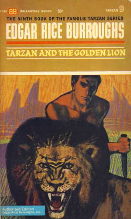 Ballantine Books - Tarzan and the Golden Lion - Edgar Rice Burroughs