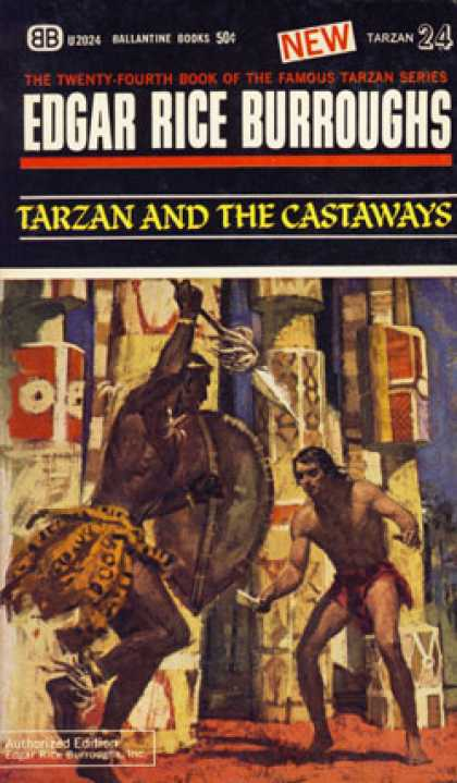 Ballantine Books - Tarzan and the Castaways (ballantine U2024) - Edgar Rice Burroughs
