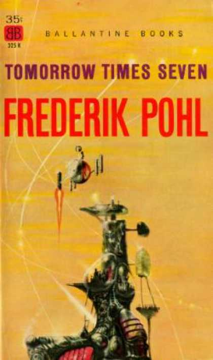 Ballantine Books - Tomorrow Times Seven - Frederik Pohl