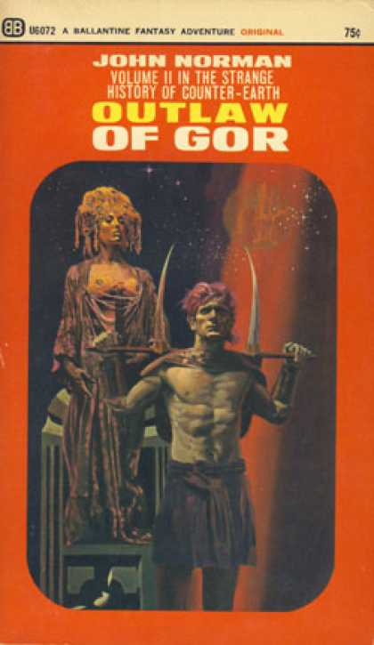Ballantine Books - Outlaw of Gor - John Norman