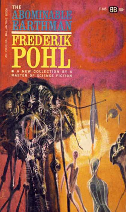 Ballantine Books - The Abominable Earthman - Frederik Pohl