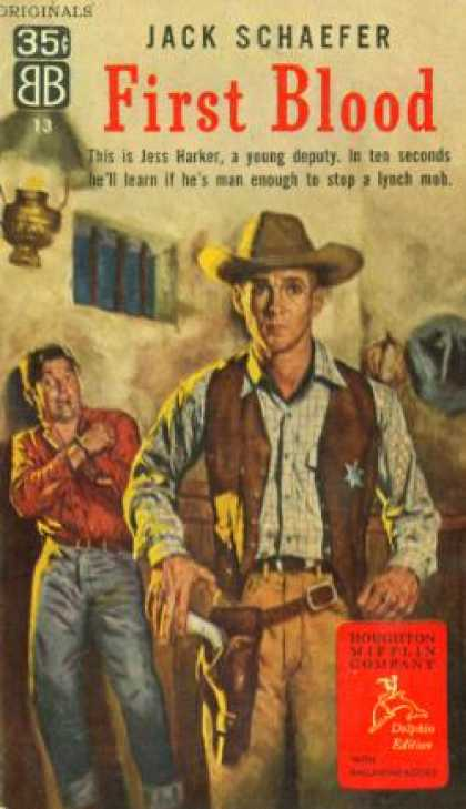 Ballantine Books - First Blood - Jack Schaefer