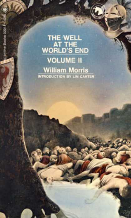 Ballantine Books - The Well at the World's End, 2 Volumes - William Morris