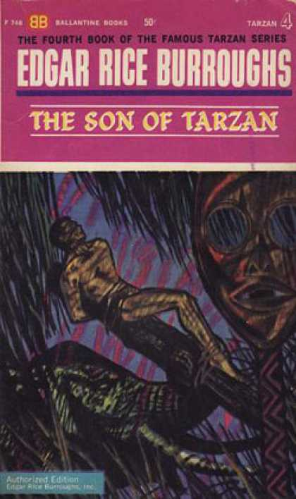 Ballantine Books - The Son of Tarzan - Edgar Rice Burroughs