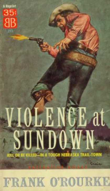 Ballantine Books - Violence at Sundown - Frank O'rourke