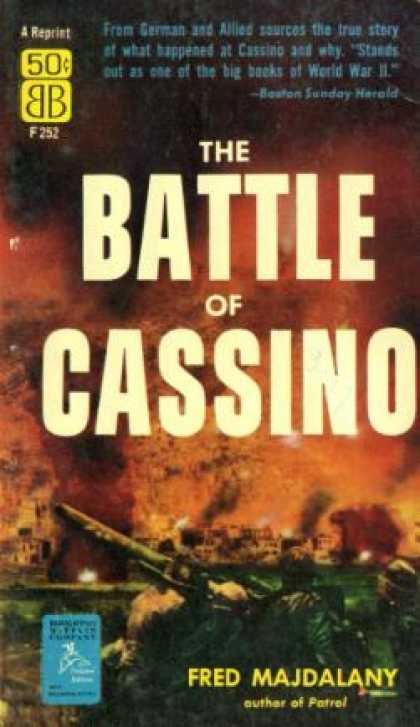 Ballantine Books - Battle of Cassino - Fred Majdalany
