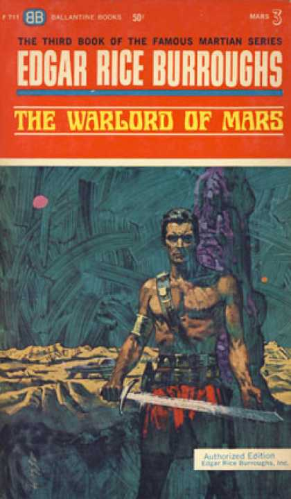 Ballantine Books - The Warlord of Mars - Edgar Rice Burroughs