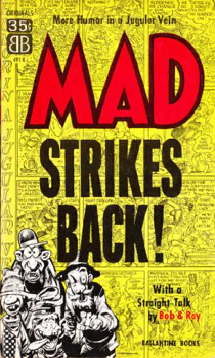 Ballantine Books - Mad Strikes Back: Mad Reader, Volume 2 - Mad