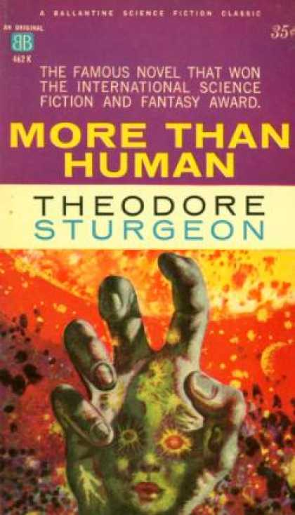Ballantine Books - More Than Human - Theodore Sturgeon