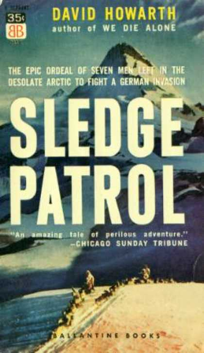 Ballantine Books - Sledge Patrol - David Howarth