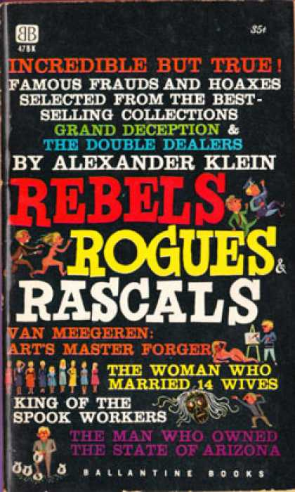 Ballantine Books - Rebels, Rogues and Rascals - Alexander Klein