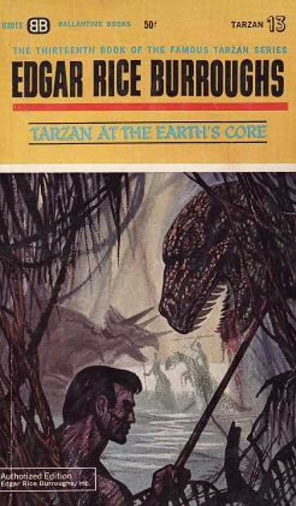 Ballantine Books - Tarzan at the Earth's Core (vintage Ballantine, U2013)