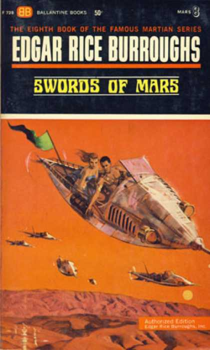 Ballantine Books - Swords of Mars